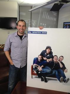 """I'm starting to get into """"Impractical Jokers"""" ... and Murr is my favorite """"joker"""" on this show."""
