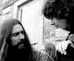My Dad & George in Ireland ...George Harrison and Donovan Leitch