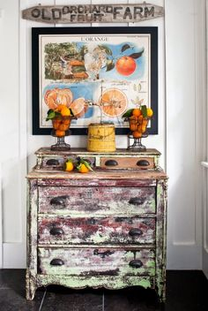 Ojai Cottage | The Polished Pebble | Chippy Dresser