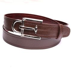3ae949fcf7b2 Ceinture hommes boucle luxe couleur argent cuir naturel marron largeur 3 cm  made in France fabrication