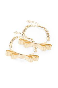 BCBG bracelets + necklace
