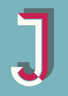 Ferm Living typography poster series from A to Z