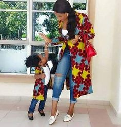 Choose from the best and beautiful matching African ankara styles for mother and daughter. These ankara styles are meant for stunning mother and daughter African Print Dresses, African Wear, African Attire, African Fashion Dresses, African Women, African Dress, African Style, African Prints, Ankara Fashion