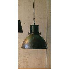 Green Patina And Metal Hanging One Light Pendant Kalalou Dome Pendant Lighting Ceiling Lig Garage Light Fixtures, Hanging Light Fixtures, Hanging Pendants, Hanging Lights, Led Pendant Lights, Pendant Lighting, Pendant Lamps, Light Pendant, Light Colored Wood