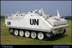 YPR-765 in UN colours