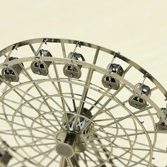 3D Puzzle DIY Nano Metal Micro Ferris Wheel Educational Toys