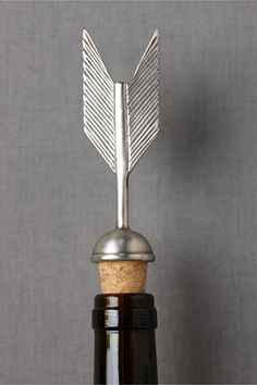 Fletching Bottle Stopper in SHOP New Décor at BHLDN