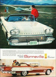 Pontiac ad 1958
