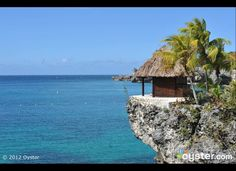 First up, the aptly named Rockhouse Hotel, which was built right into the rugged cliffs of Negril, Jamaica. Loungers can be found throughout the property at the cliff's edge, as high as 40 feet from the water below, and the massage hut (pictured) is set on a precarious-looking outcropping. See more photos of Rockhouse Hotel in Negril, Jamaica