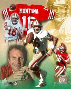 Joe Montana San Francisco 49ers Licensed Un-signed Poster Picture Pic 8x10 Photo from $6.99