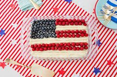17 Red, White + Blue Recipes That Will Make You See Fireworks via Brit + Co.