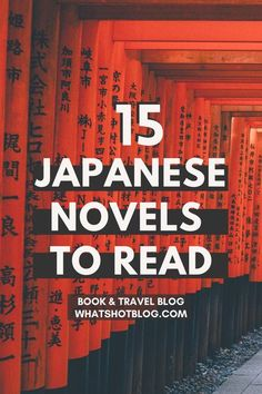 These are some of the best Japanese books to read before visiting Japan. This list includes books about Japan and books set in Japan, all books by Japanese authors of course! #whatshotblog #bookreview #bookrecommendations