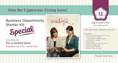 Join my Upper Case Living team now for only $49. #DirectSales #Independent #UpperCaseLiving #Business Oppurtunity