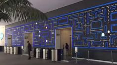 Salesforce Has Building With An Awesome Pac-Man Wall