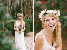 Travel-Inspired Bohemian Wedding: Kristin + James | Green Wedding ...