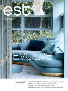 est Magazine Issue #38   Evolve Dream Home Design, House Design, Flack Studio, Home And Living, Living Room, Australian Homes, Smart Design, Fireplace Wall, Apartment Living