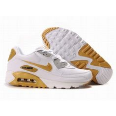 official photos 09d02 98d7d Nike Air Max 90 White Yellow D05185 Nouvelle Nike, Roshe Shoes, Nike Shox  Shoes