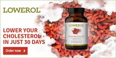Lowerol is one among the right cholesterol supplement that is the right product out there in market worldwide. It helps to manage the cholesterol levels plus decreases the danger of cholesterol connected diseases in our body. The all natural ingredients in such product helps to control the cholesterol levels in your body quickly.