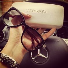 Style - essential details. Versace sunglasses.