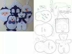 Ideas patchwork para la Navidad.