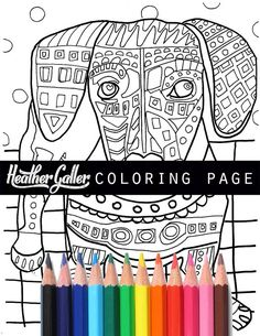 Coloring Book Adult Pages