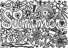 create masterpiece coloring pages | summer coloring page | Storytimes | Summer coloring pages ...