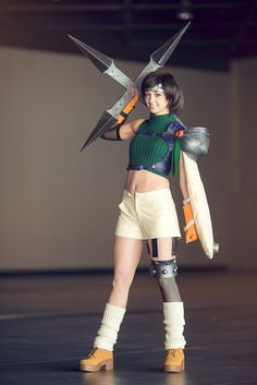 Yuufie Kisaragi, Compilation of Final Fantasy Final Fantasy Vii, Final Fantasy Cosplay, Power Girl Cosplay, Cosplay Girls, Cosplay Characters, Character Costumes, Best Cosplay, Awesome Cosplay, Female Cosplay