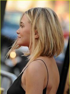 Long Inverted Bob Haircut for Girls