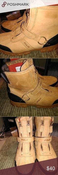 Ralph Lauren polo boots Pre owned Ralph Lauren Shoes Boots
