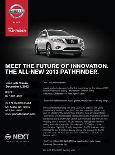 Launch Party for 2013 Pathfinder at Jim Harte Nissan