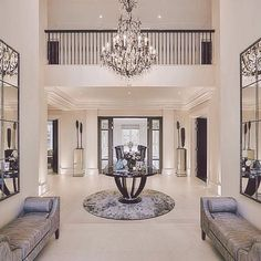 building Entrance Hall area Foyer Lobby with elevator interior design . Luxury Interior, Home Interior Design, Interior Decorating, Luxury Furniture, Contemporary Interior, Contemporary Style, Classic Interior, Interior Designing, Design Interiors