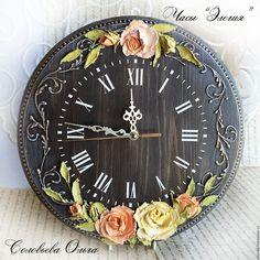 """Купить Часы """"Элегия"""" - часы, часы настенные, часы интерьерные, для дома и интерьера, интерьер"""