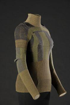 Martin Margiela - military socks sweater,1991
