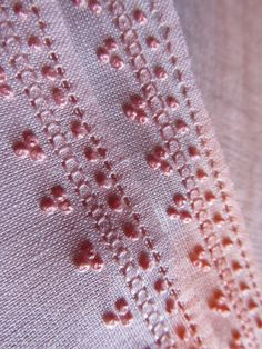 Baroque Embellishments: The Alluring Elegance of Finely Worked Insertion Seams