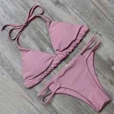 Faded Magenta Bikini – Girl Heaven