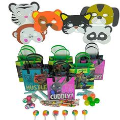 Take your party to the modern and civilized world of animals with Zootopia Party Pack. Featuring a variety of bright and bold colors, This Favor pack is great for your birthday boy or girl. Features b