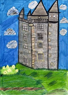 Sarah Glover, age 11, was Highly Commended for her drawing of Scrabo Tower