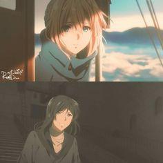 Sad Anime, Anime Guys, Manga Anime, Violet Evergarden Gilbert, Haru And Makoto, Violet Evergreen, Kagami Kuroko, Violet Evergarden Anime, Dark Feeds