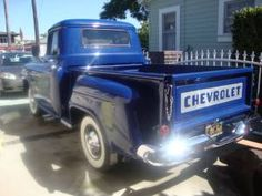 Nice Chevy Apache Truck, love the paint job, Nice stock looking truck, Wide White walls, A+
