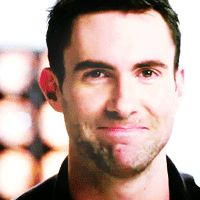 13. That time Adam smiled and laughed… | Community Post: 28 Times Adam Levine Proved He Was The Sexiest Man Alive