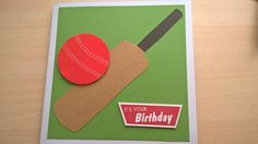 Card for cricket loving mate