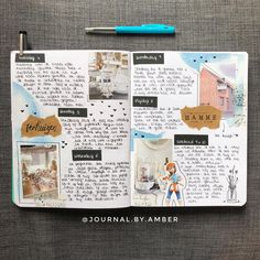 I'm back! I know this spread is about the first week of June, I moved and couldn't find my bujo and I found it today! That's why I post…