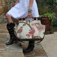 Custom, handmade handbags and designs // Texas Carpet Baggers