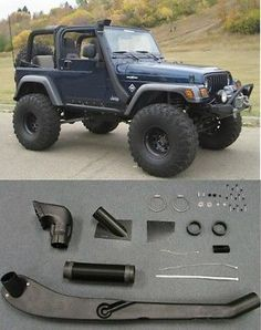 1999-2006 Jeep Wrangler TJ YJ Air Intake Snorkel Kit System New Free Shipping