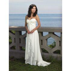 beach wedding dresses – summer wedding dresses (5) : Wedding Cakes via Polyvore