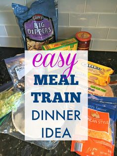 Looking for Meal Train Ideas? These Sheet Pan Fajitas are the PERFECT meal to bring a friend in need! Tasty, inexpensive- and easy to heat up! New Mom Meals, Meals For The Week, Family Meals, Inexpensive Meals, Cheap Meals, Dinner Train, Meal Train, Funeral Food, Take A Meal