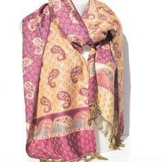 Grande Echarpe, Motif Indien, Motif Cachemire, Indiens, Foulards 0d0cdb0c2f8