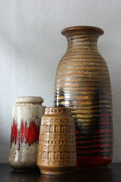 Scheurich trio Inka 260-18 Lora 529-21 293-42