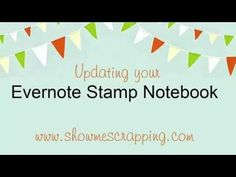 Stamp Notebook - Show Me Scrapping: Let me show you scrapbooking, card-making and stamping
