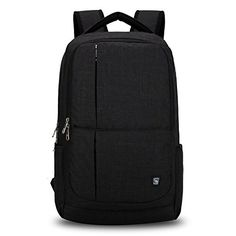 Oiwas Waterproof Nylon Backpack fit for 17 Inch Laptop,Ta…